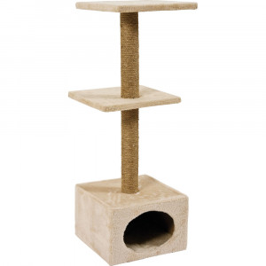 Arbre à chat BASIC duo, beige