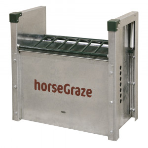 Distributeur d'aliments chevaux HorseGraze