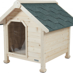 Niche chalet bois, taille extra large