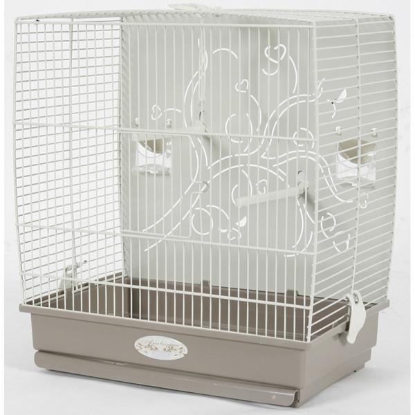 Cage Arabesque ADELE 40 cm taupe