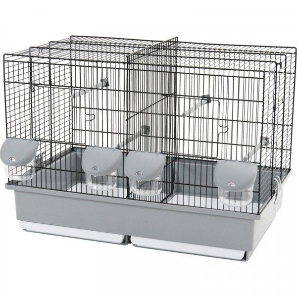 Cage ELEVAGE 57 noir/gris
