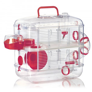 Cage duo RODYLOUNGE, cerise