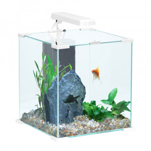 Aquarium NANOLIFE Cube 50, blanc