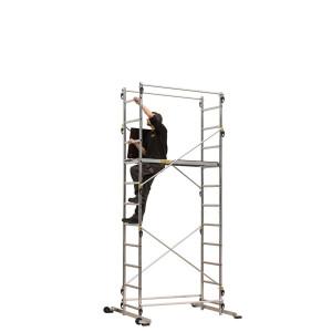 Echafaudage aluminium TEK'UP 4M55