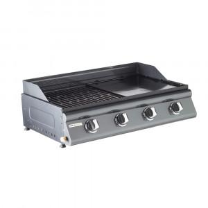 Barbecue gaz à poser mixte 4 brûleurs LAS PALMAS