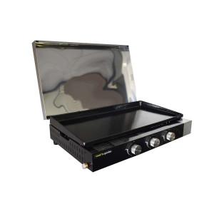Capot de protection  pour plancha FINESTA 3 brûleurs