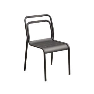 Lot de 6 chaises Eos graphite