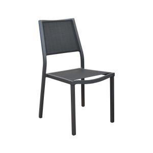 Lot de 4 chaises noires Florence