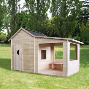 Cabane en bois pour enfant AMARYLLIS