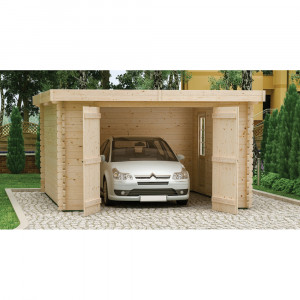 Garage Bois PLUM* 4000x5500mm